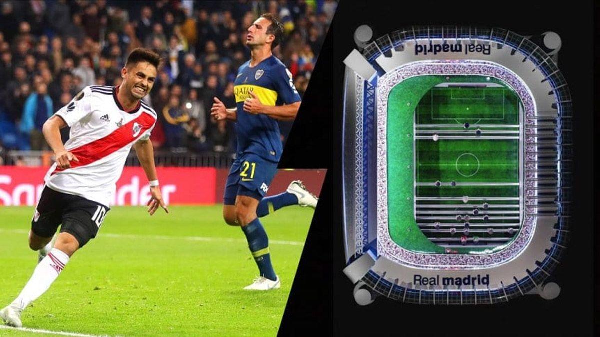 El metegol eterno de la final de Madrid entre River y Boca