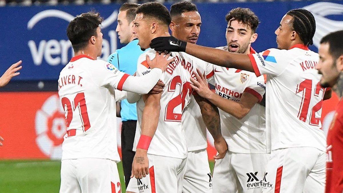 Sevilla ganó e hizo sufrir al Barcelona