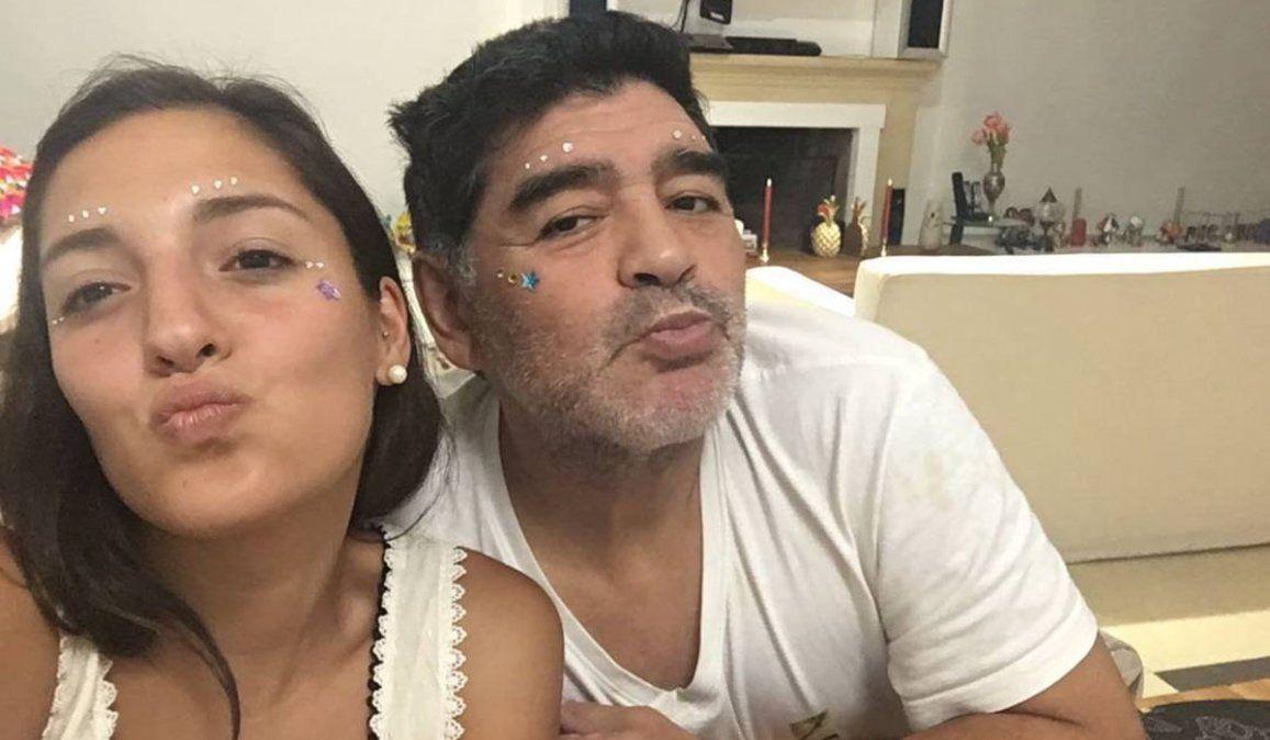 El insulto a Jana Maradona y el alerta que ignoró Leopoldo Luque a días de la muerte de Diego