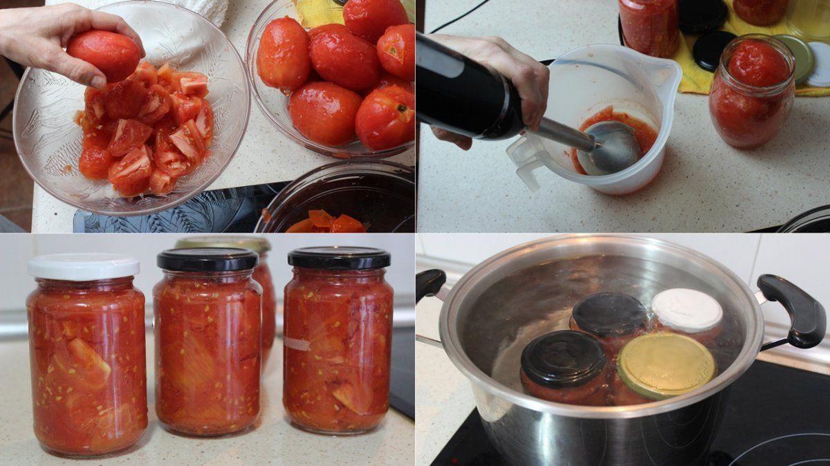 Temporada de conservas: tomate
