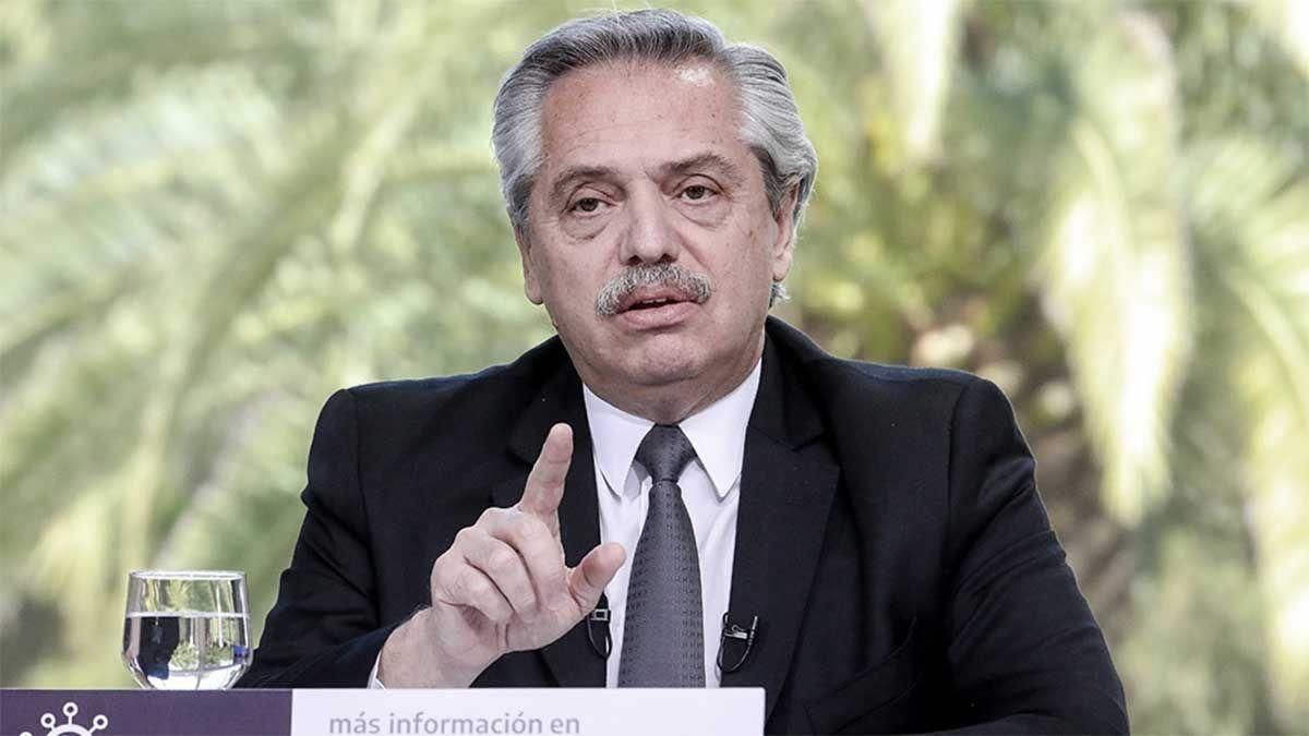 Alberto Fernández anunció las nuevas restricciones