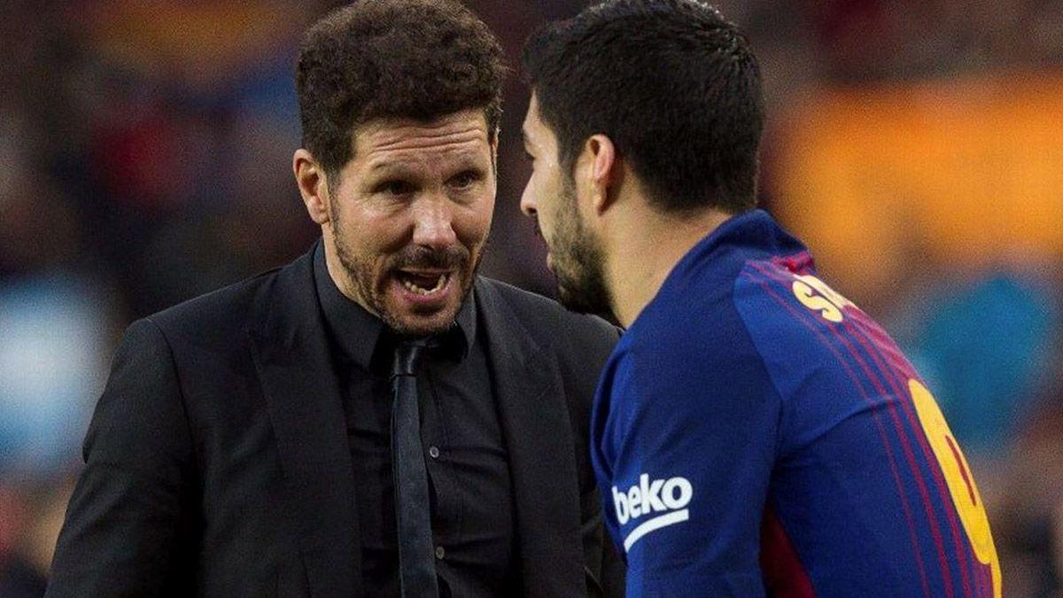 El Cholo Simeone le hizo un guiño a Luis Suárez