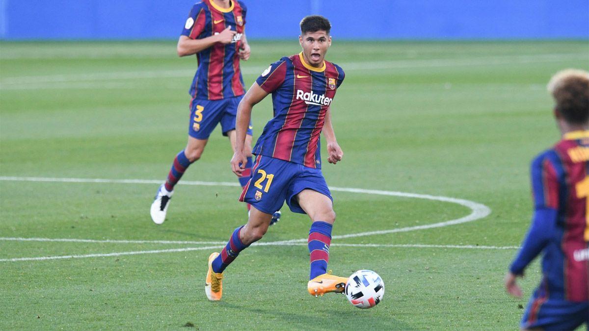 Ramos Mingo debutó en el Barcelona B con un triunfazo