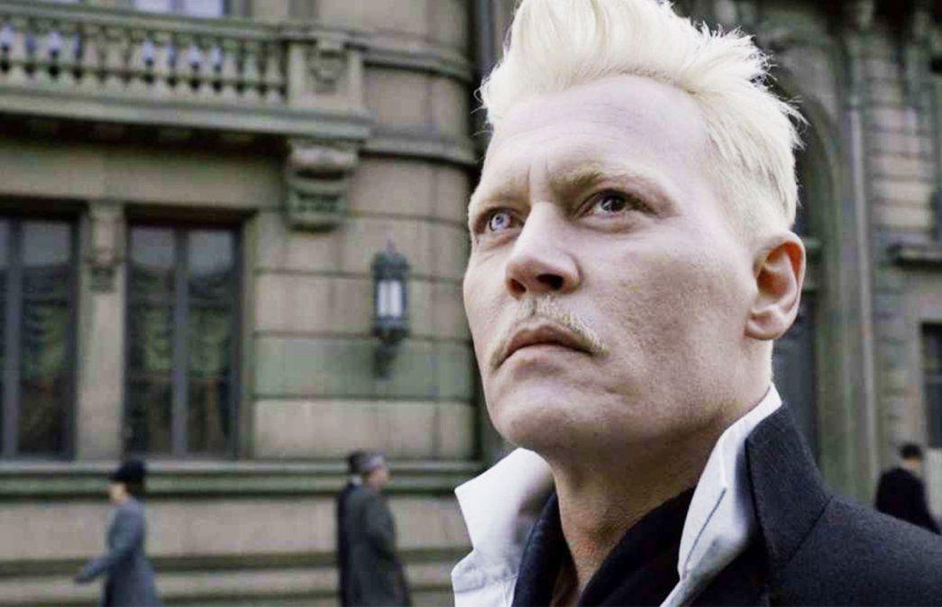 Johnny Depp dejó la saga de Animales Fantásticos.