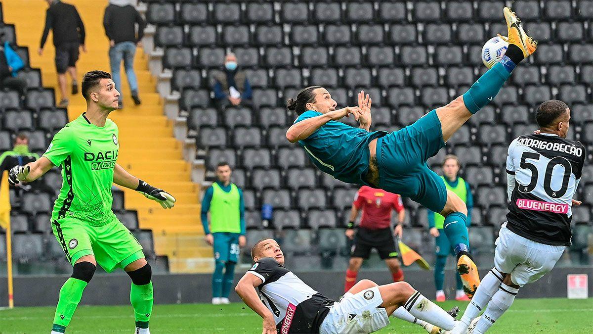 Ibrahimovic y una gran pirueta para el triunfo del Milan