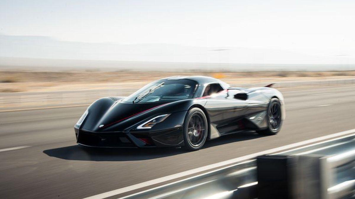Nuevo récord de velocidad: un auto superó los 500km/h