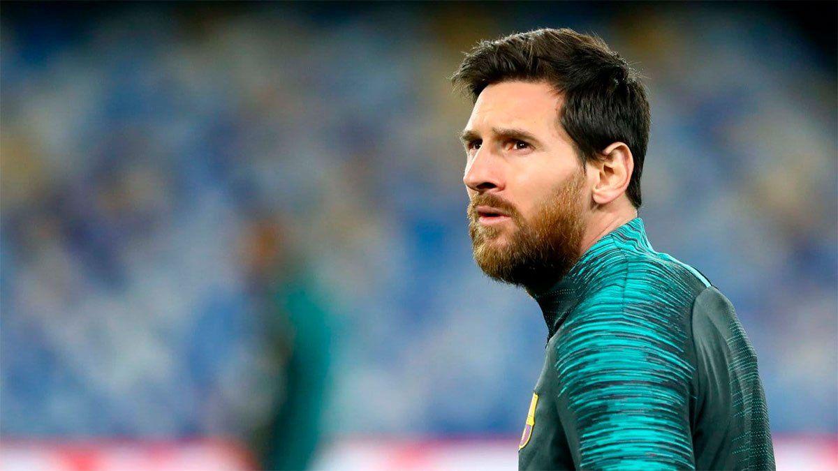 Messi será hisopado en su casa para sumarse a las prácticas