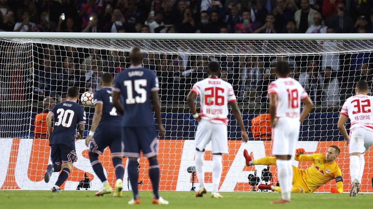 La increíble reacción de un guardia de seguridad cuando la picó Messi