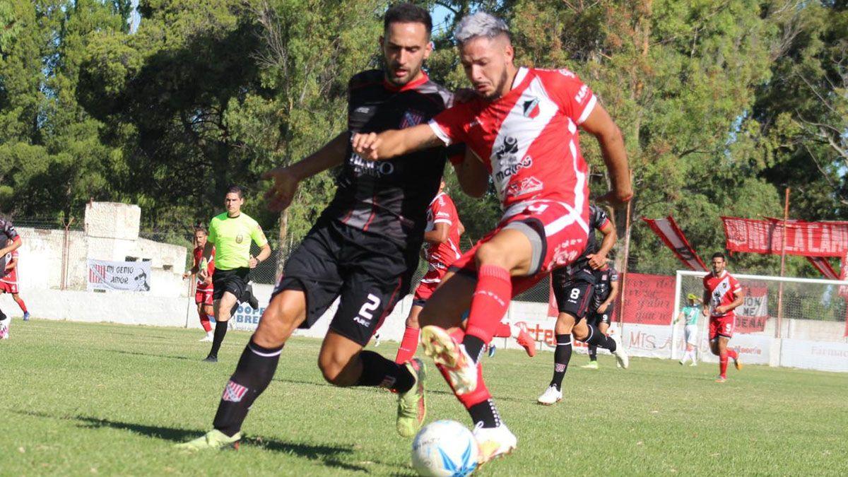 Deportivo Maipú empató 1 a 1 con Sansinena en General Cerrri.