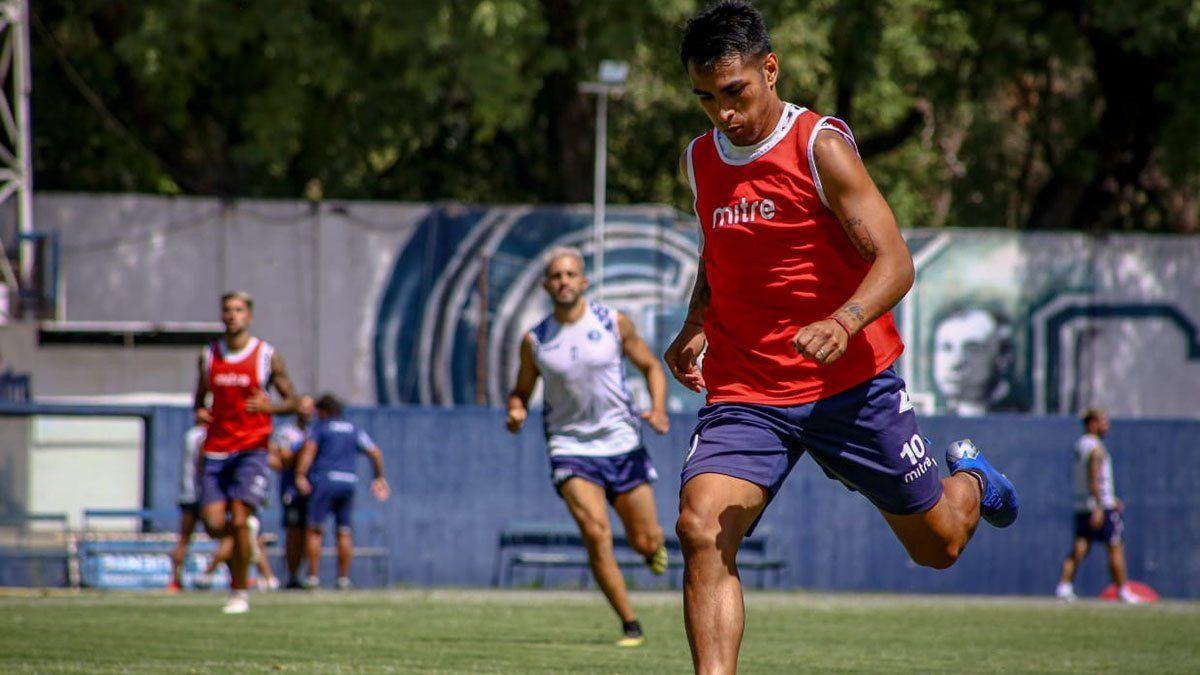 Diego Cardozo sería titular ante San Telmo en el Gargantini.