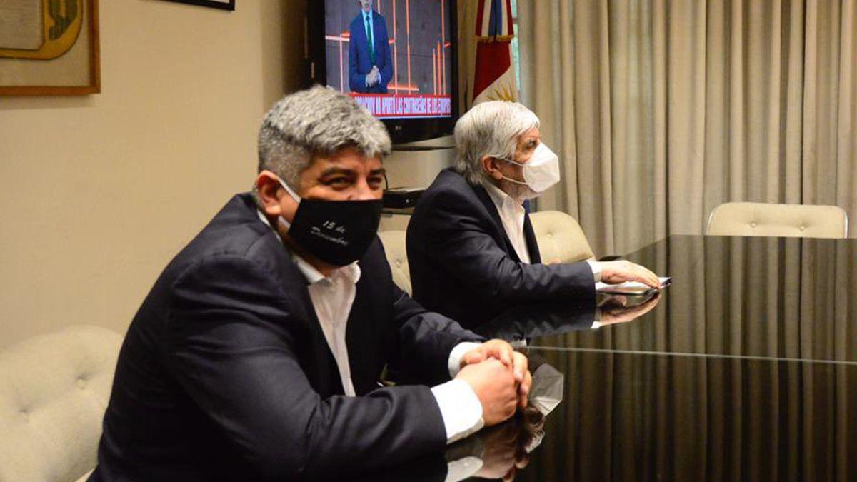 Pablo Moyano defendió el bloqueo de camioneros en la frontera con Brasil y reclamó que los gobiernos de la Argentina y Brasil se pongan de acuerdo.