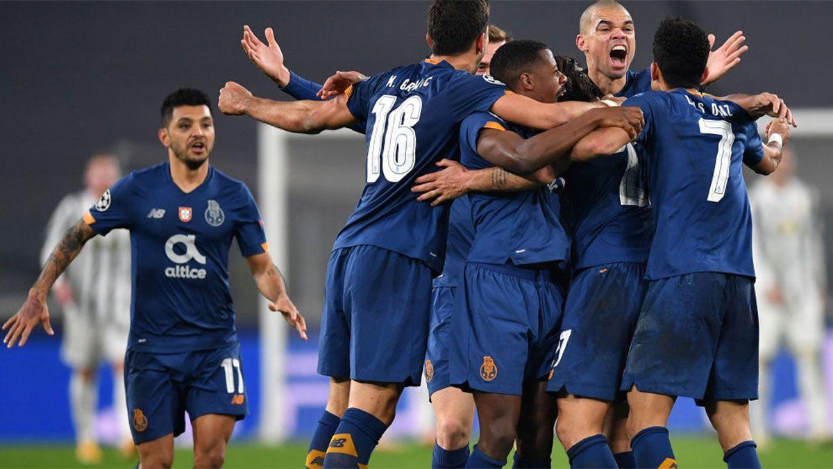 Porto, con una gran labor de Marchesín, dio el golpe ante Juventus