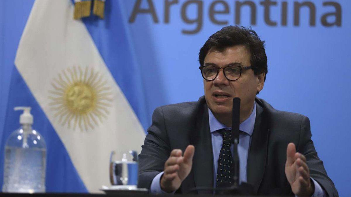 Claudio Moroni, ministro de Trabajo de la Nación.