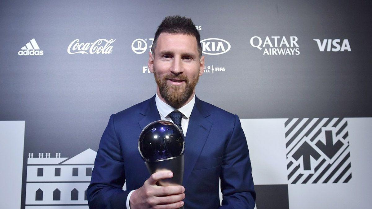 Messi defenderá el premio The Best de la FIFA