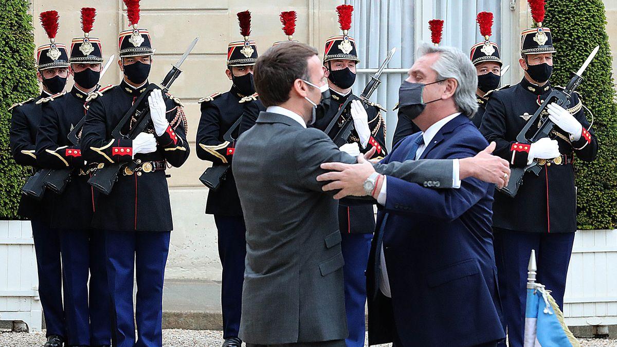 Alberto Fernández aseguró desde Francia que la postura argentina sobre el conflicto entre Israel y Palestina respeta la posición de Naciones Unidas.