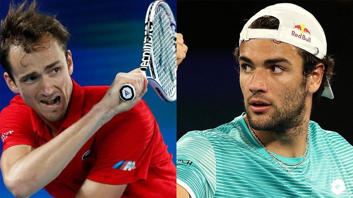 ATP Cup: Italia y Rusia son finalistas en Melbourne