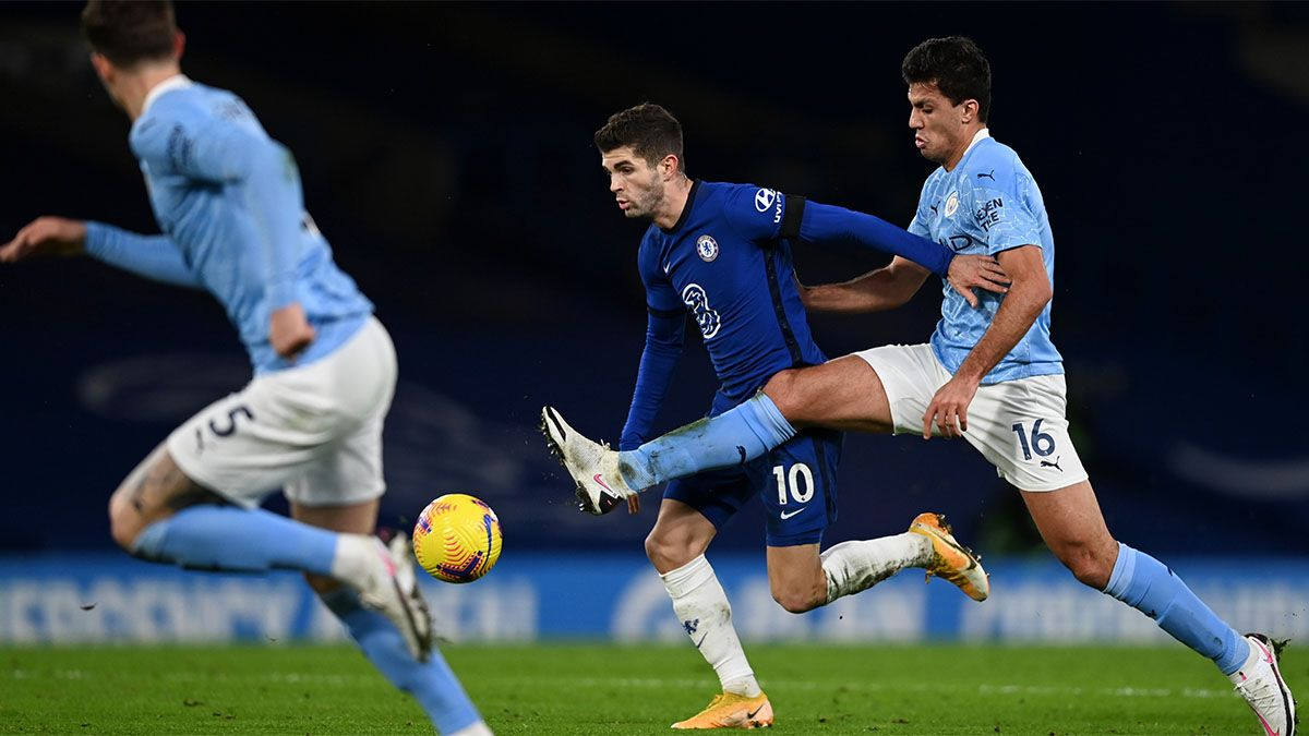 Manchester City le ganó al Chelsea y se acerca a la punta