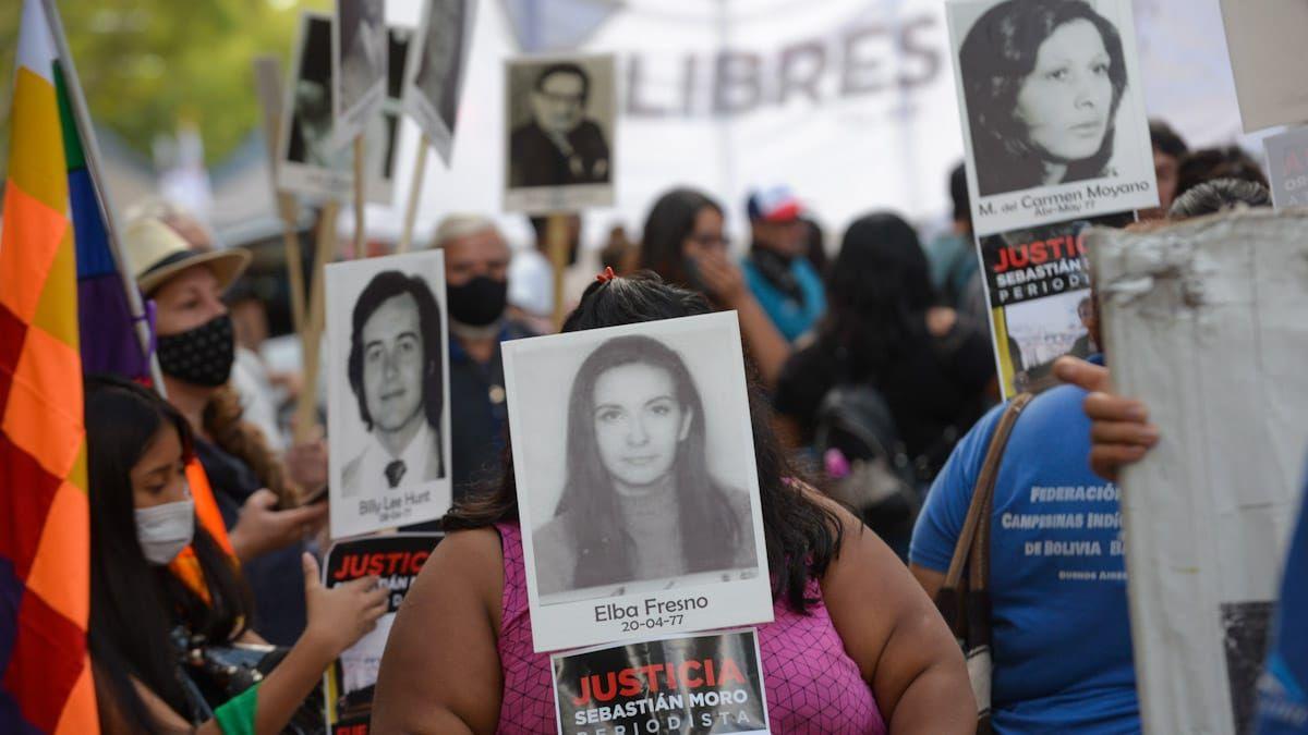 Marcha por la conmemoración del Día de la Memoria por la Verdad y la Justicia.