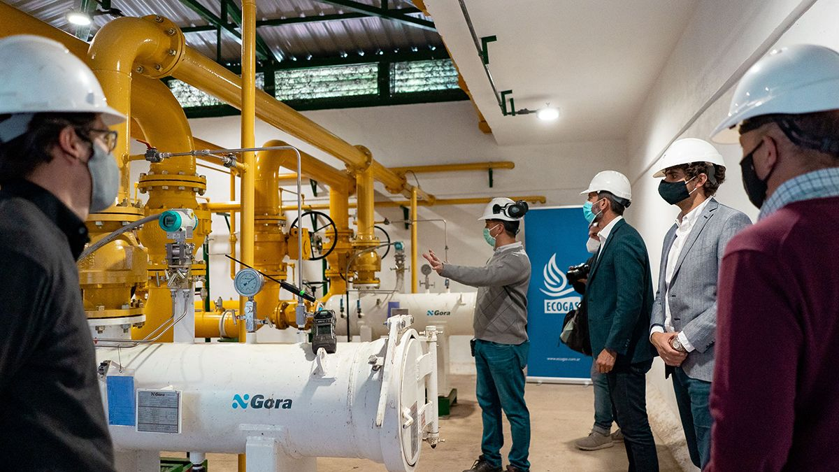 Ampliación de capacidad de la planta reguladorafinal de Ecogas ubicada en la plaza Mathus Hoyos.