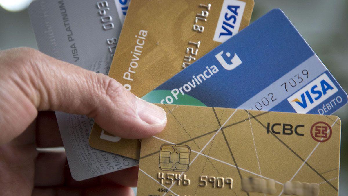 Las operaciones con tarjetas de crédito crecieron a un ritmo del 60% anual