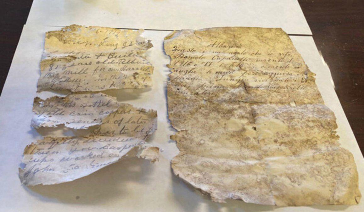 Las cartas fueron encontradas en un antiguo edificio de Nueva York
