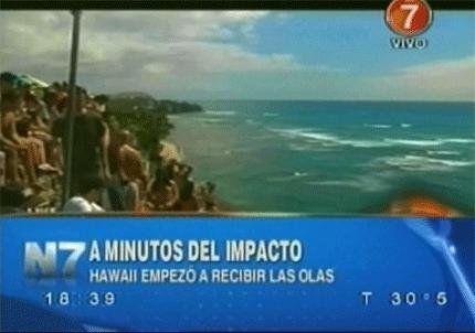 Tras el mortal terremoto en Chile esperan el tsunami en Hawai