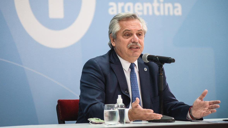 El presidente Alberto Fernádez convocó para este jueves a todos los gobernadores.